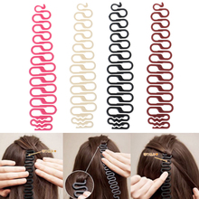 1pcs Lady French Hair Braiding Tool Weave Braider Roller Hair Twist with Hook Hair Edge Curler Styling Tool DIY Accessories