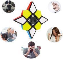 1×3×3 Fidget Cube Magic Cube Fidget Spinner Antistress Puzzle Toys for Children Intelligence Cube Cubo Magico for Beginner brain trainer intelligence toy 3 x 3 x 3 star magic cube