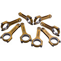 Racing Engine Connecting Rods For Toyota Tundra Lexus 1UR 4.6L 3UR 5.7L 800HP Titanizing Connect rod conrods Piston Floating Pin