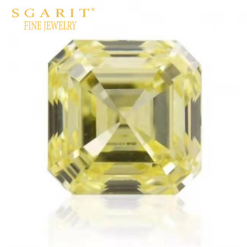 Dubai luxury beautiful wedding diamond jewelry making GIA VS1 fancy yellow 1.08ct natural loose diamond 1