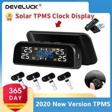 Универсальные часы tpms на солнечной энергии ЖК дисплей беспроводная