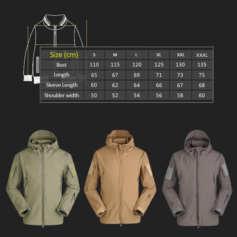 Details of Windbreaker Waterproof Soft Shell Jacket