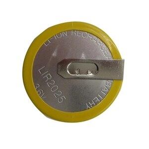 Image 4 - RIOOAK 10/20/50/100pcs Rechargeable LIR2025 Battery 3.6V For BMW key e46 e39 e36 e38 e34 Remote Car Key Shell Cover Case Battery