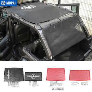 Net-Accessories Sunshade-Cover Jeep Wrangler Roof Car-Trunk Sun-Protect Anti-Uv for JL