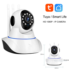 Tuya Baby Monitor Smart IOT IP Camera HD 1080P audio intercom alarm notification IR night vision