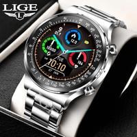 Luik 2021 Nieuwe Slimme Horloge Bluetooth Call Smartwatch Mannen 1Gb Rom Muziekspeler Fitness Mannen Horloges Ondersteuning Muziek downloaden Klok
