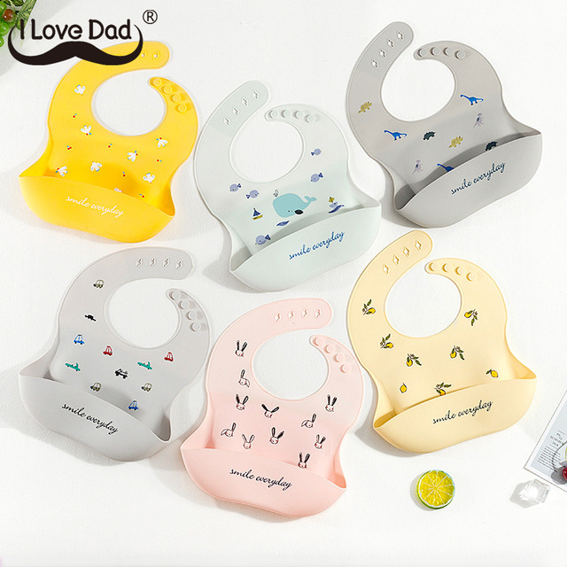Baby Bib with Spoon 4
