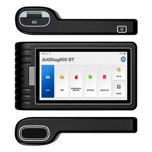Image 5 - TOPDON ArtiDiag800 BT strumento diagnostico per Auto Scanner automobilistico strumenti di scansione automatica Bluetooth tutto il sistema 28 funzioni di ripristino PK MK808BT