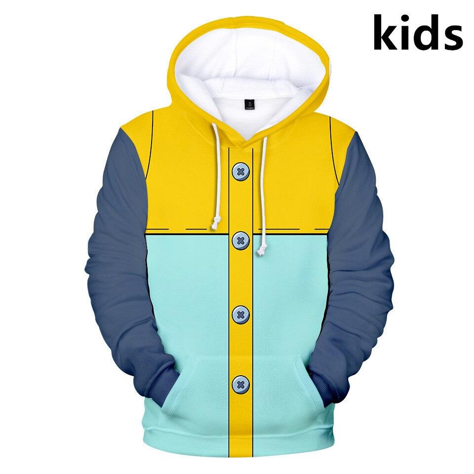 2 To 14 Years Kids Hoodies The Seven Deadly Sins 3D Hoodie Sweatshirt Boys Girls Nanatsu No Taiza Jacket Coat Children Clothes