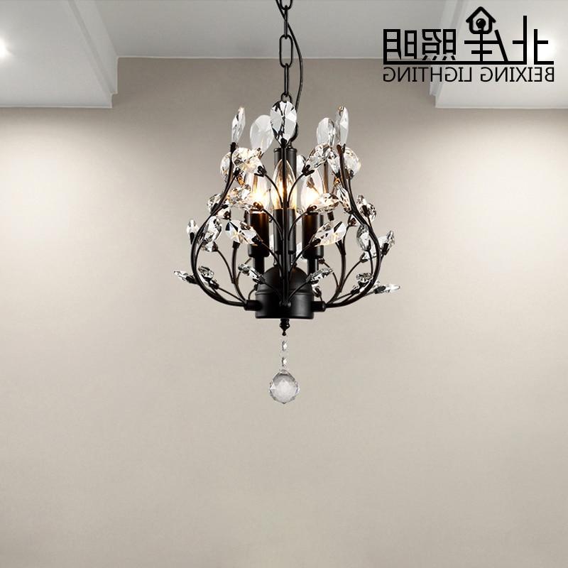 Modern Creative Led Crystal Lamp K9 Crystal Pendant Light Dining Room Living Room Hallway Crystal Light 220v/110v E14 Luminaire
