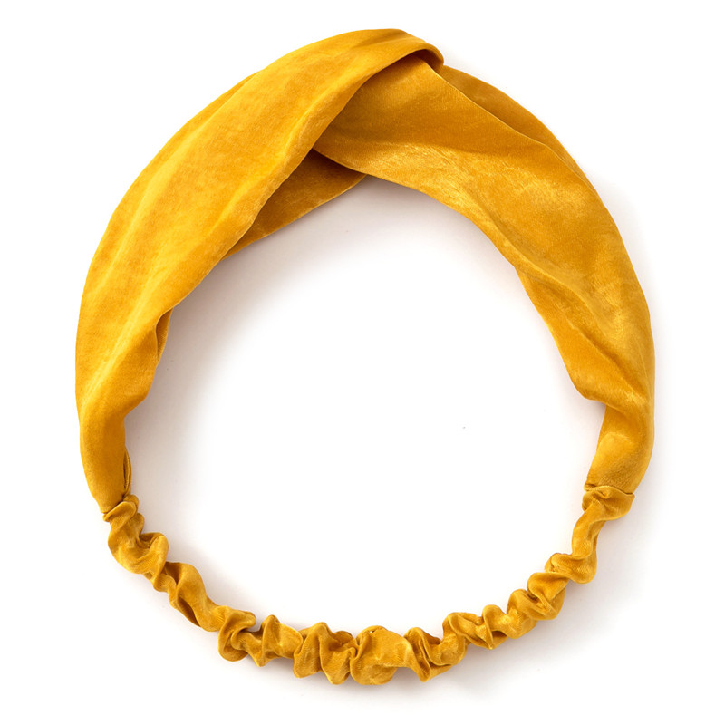 2021 New Design Fashion Women Summer Style Headbands Bohemian Girl Cross Turban Bandage Bandanas Hairbands Hair Accessories