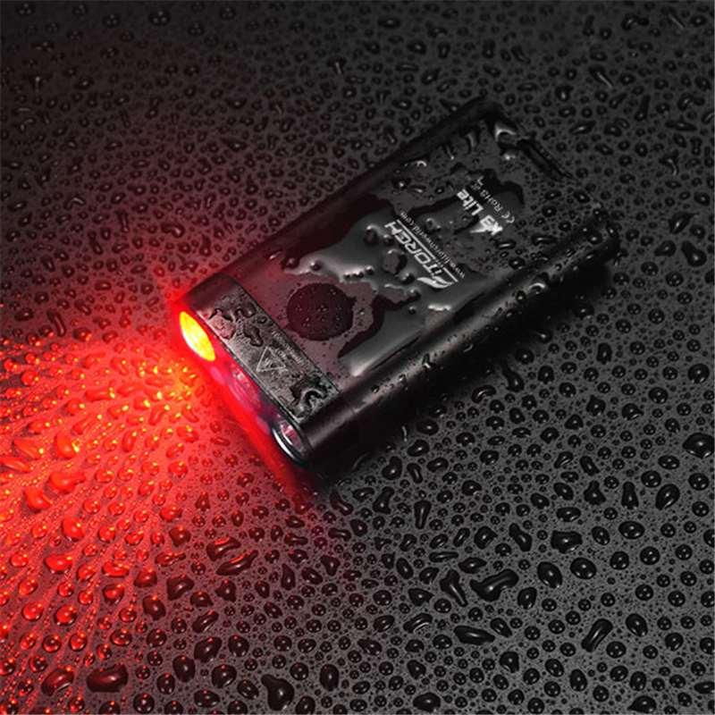 Fi фонарь K3 Lite 3 светодиодный 550lm USB Перезаряжаемые Мини светодиодный брелок Светильник IPX6 Водонепроницаемый EDC вспышки светильник фонарь светильник Фонари фонарь