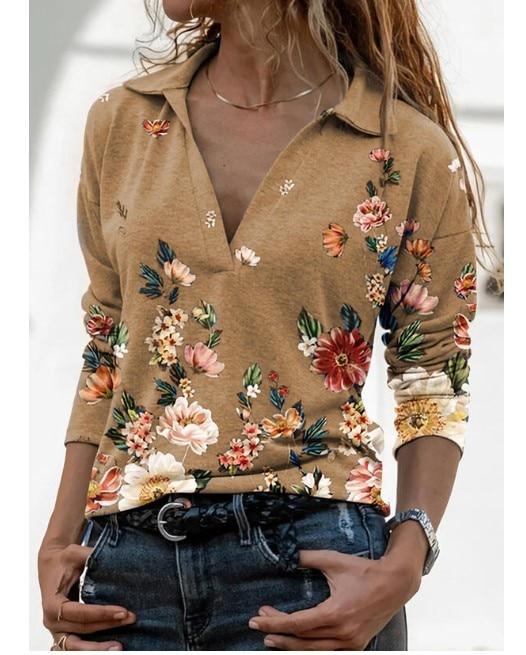 Aprmhisy Graphic Shirts Women Autumn New Long Sleeve Casual Streetwear Blouse Shirt Blusas Femininas 16
