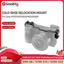 Monture de relocalisation de chaussures froides pour Sony A6300/A6400/A6500 Double monture dextension de chaussures froides pour Microphone/moniteur/LCD  2334
