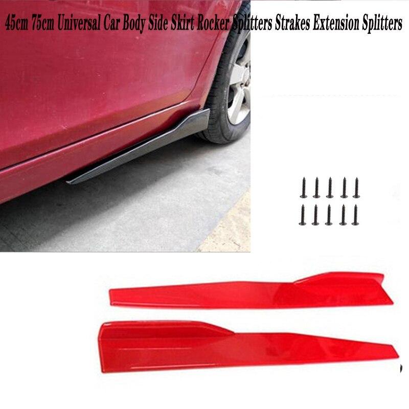 2 Stuks Car Side Rok Bumper Diffuser Spoiler Schorten Voor Peugeot 307 206 308 407 207 2008 3008 508 406 208 Mazda 3 6 2 CX 5 CX5 Cx-in Rok van Auto´s & Motoren op title=