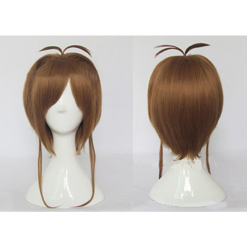 HAIRJOY Synthetic Hair Card Captor Sakura Cosplay Wig Costume Party Wigs Free Shipping 6