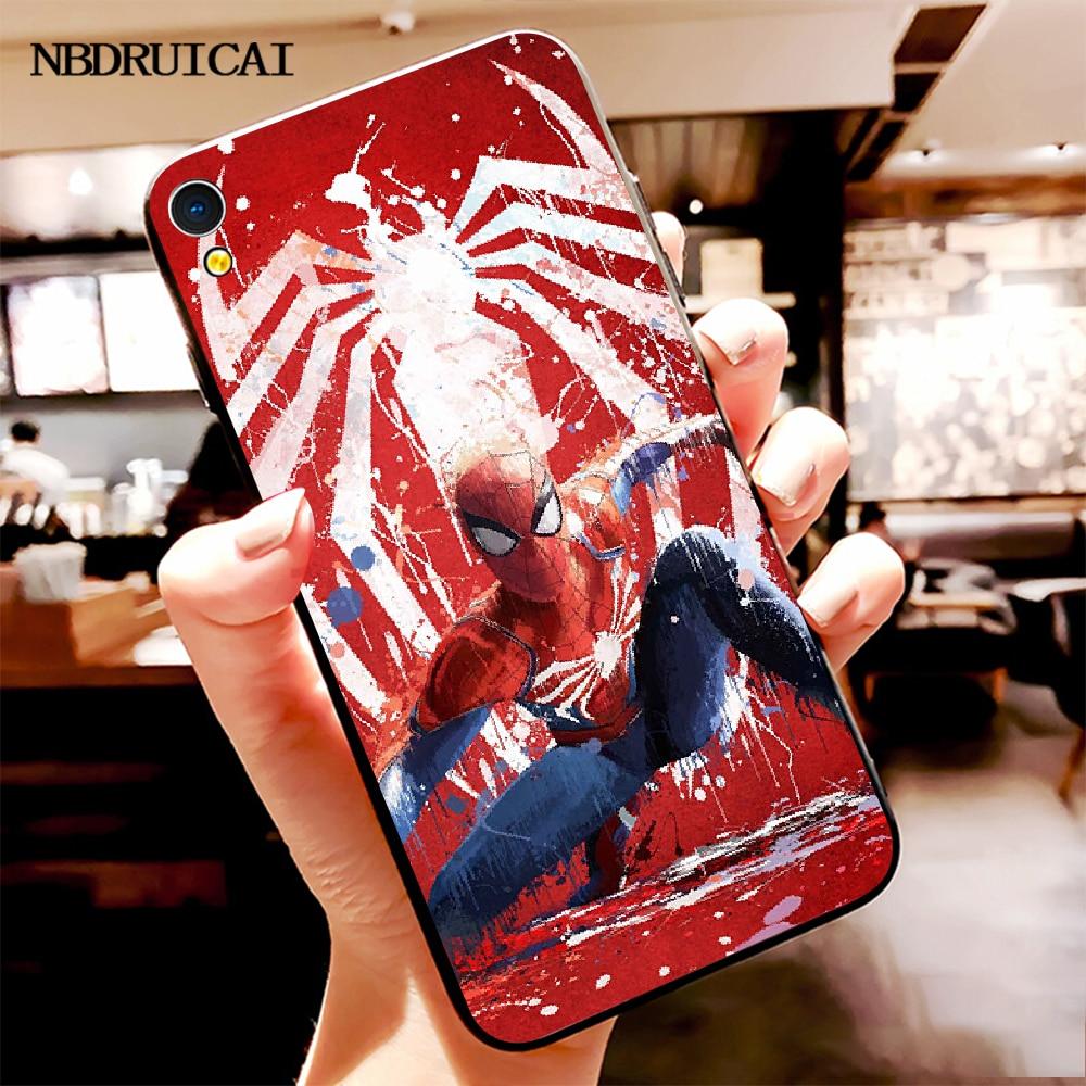 NBDRUICAI Marvel süper hero örümcek adam özel fotoğraf yumuşak telefon Vivo için kılıf Y91c Y17 Y51 Y67 Y55 Y93 Y81S Y19 Y7S kılıfı
