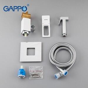 Image 5 - GAPPO Bidet robinets blanc douche hygiénique mélangeur toilette bidet musulman douche anal nettoyage cul bidet poche toilette pulvérisateur ensemble