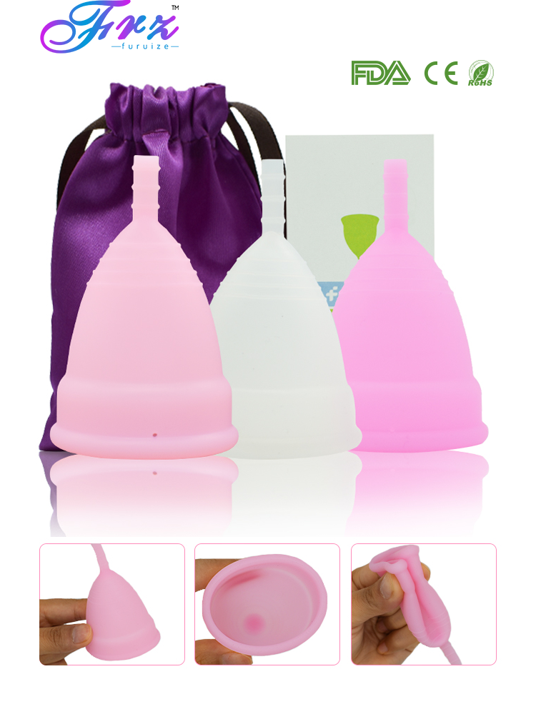 Lady Cup Menstrual-Cup Hygiene-Product-Copa Medical-Grade Silicone Feminine
