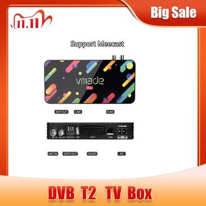 Image 1 - Vmade 2020 דיגיטלי DVB T2 H.265 מפענח HD 1080P DVB T2 terrestrial מקלט תמיכה Meecast USB WIFI youtube DVB t2 מקלט טלוויזיה