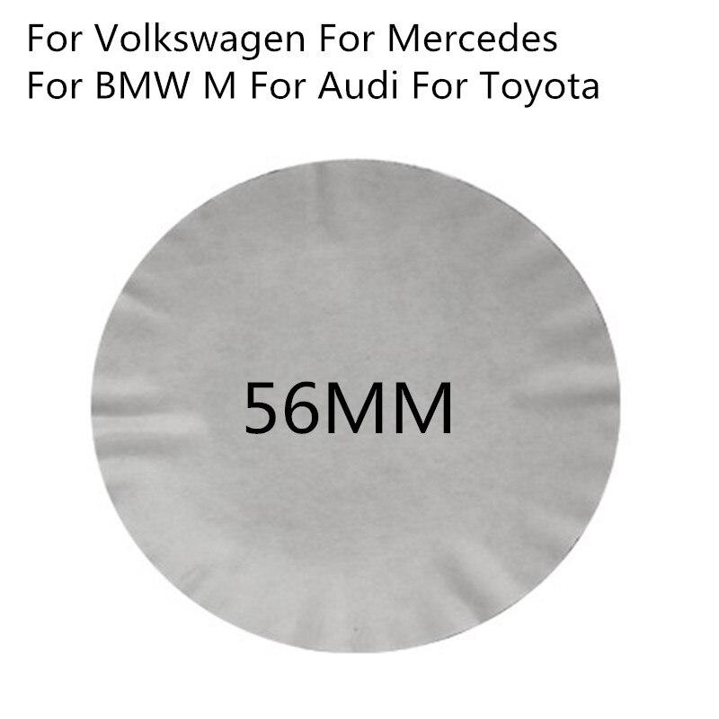 4 шт. автомобильный Стайлинг Центральная втулка колеса автомобиля Автомобильный значок 3D стикер для BMW M AUDI S Line A5 A6 Mercedes Benz AMG Ford toyota volkswagen