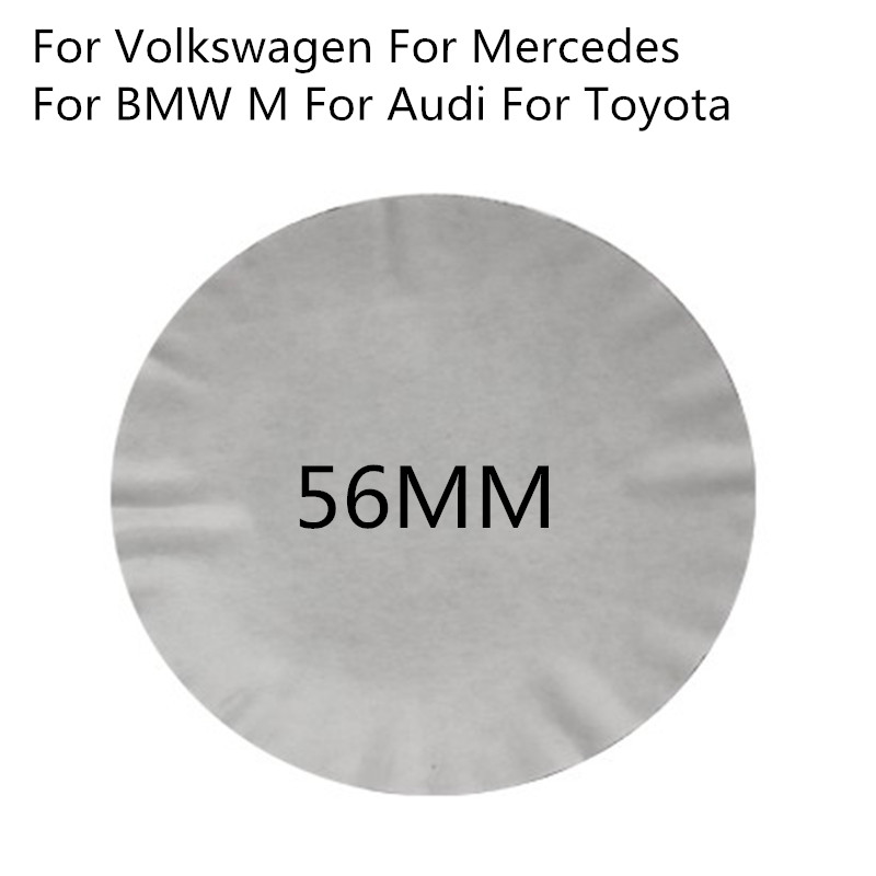 4pcs Car Styling Car Wheel Center Hub Car Badge 3D Sticker For BMW M AUDI S Line A5 A6 Mercedes Benz AMG Ford Toyota Volkswagen