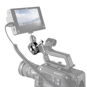"""Image 5 - SmallRig Super abrazadera con rosca de 1/4 """"y 3/8"""" para cámaras, luces, paraguas, ganchos, estantes, vidrio de placa, barras cruzadas, etc   735"""