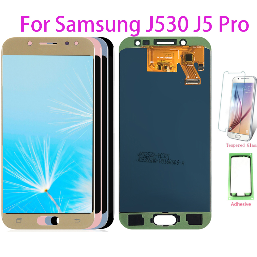 Test LCD Screen For Samsung J530 Adjust LCD Display Touch Screen Digitizer For Samsung Galaxy J5 Pro 2017 J530F J530Y Assembly
