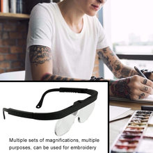 Loupes à 3 lentilles portables 11537A, lunettes grossissantes de 1,5x2,5x3,5 x, lunettes de lecture portables, cadeau