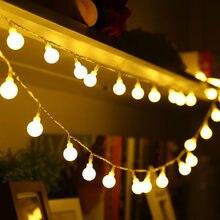 6M 10M 20M 30M 50M guirlande guirlande LED à boules lumineuses Chrismtas Star Globe Ball fée chaîne lumières pour la maison décoration de fête de mariage