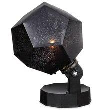 كشاف ضوئي ليلي نجمة السماء ليلة مصباح 3 طرق دوران 3 LED 3 لون النجوم مصباح إسقاط للطفل غرفة نوم الطفل ، عيد الميلاد G