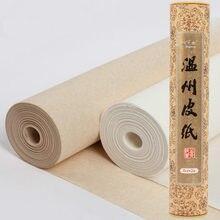Çin saf dut kağıdı el yapımı kaligrafi boyama pirinç kağıt haddeleme yarım olgun Fiber Xuan kağıt Rijstpapier Papel Arroz