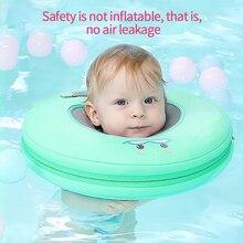 Swimming Neck Ring Infant Swimming Baby Ring Bathing Float Buoy Swim Circle Tube Neck Safety Neck Accessory