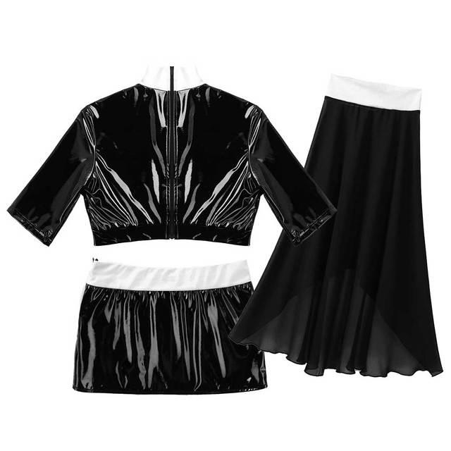 Sexy Nun Halloween Cosplay Costume With Mini Bodycon Skirt + Headpiece #C1540 6
