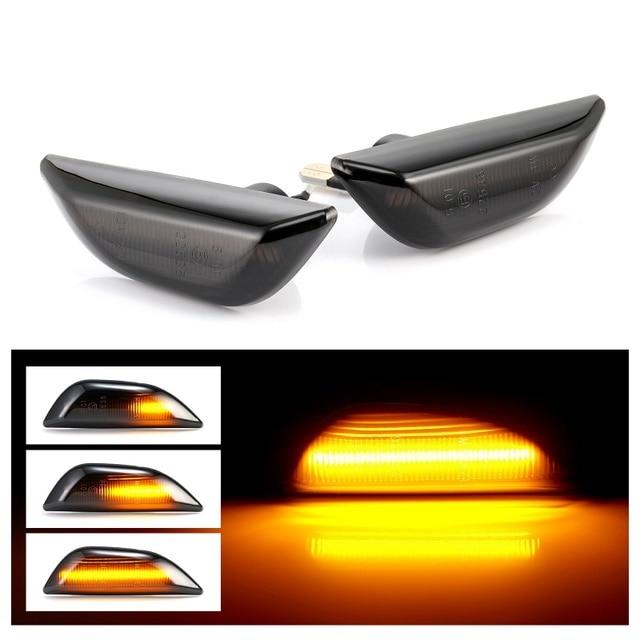 Для Opel Mokka, для Opel Mokka X, для Chevrolet Trax, светодиодный динамический боковой габаритный светильник, последовательный мигалка, светильник для указателей поворота, лампы