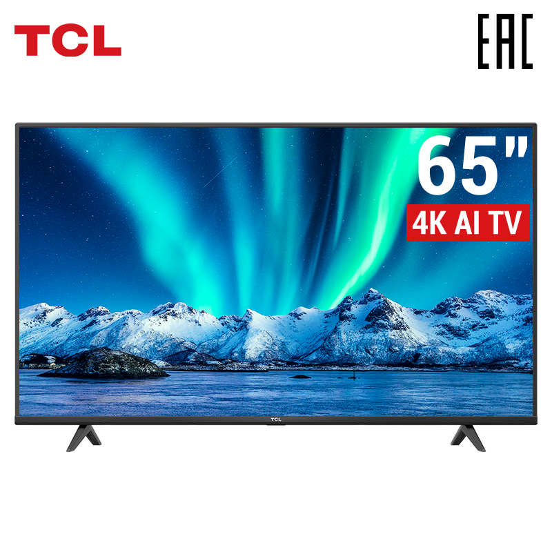 TCL Android P телевизор телевизоры 65 дюймов 4 k TV  65P615 4K UHD телевизор смарт