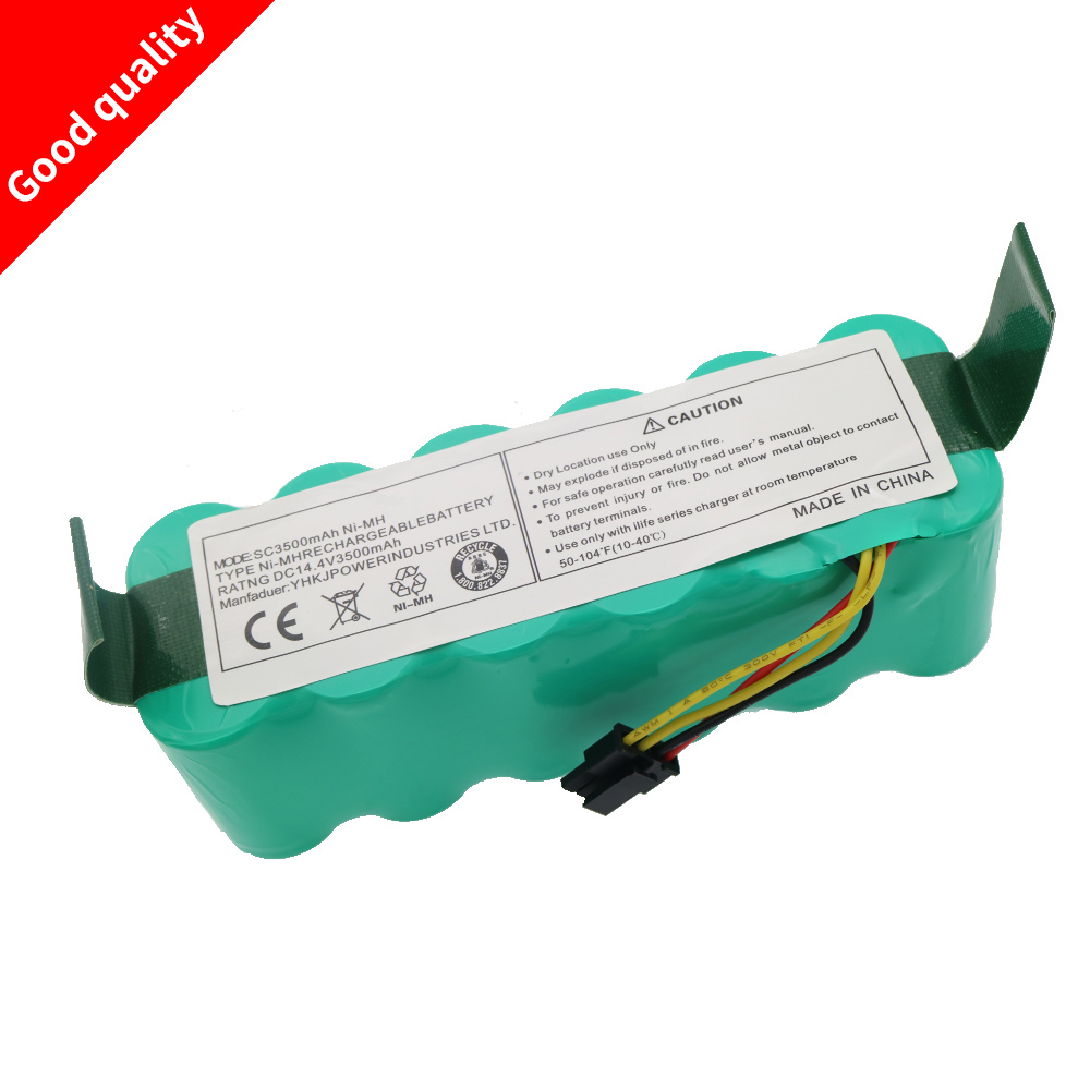 14.4V 3500 mAh Ni-MH Battery Pack for Ariete Briciola 2711 2712 2717 robotic Cleaner Vacuum cleaner parts(China)