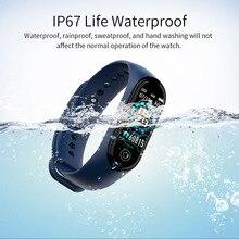 Умный Браслет, пульсометр, кровяное давление, SmartBand, трекер, стильный, защищенный от пота, Bluetooth, водонепроницаемый, умный Браслет