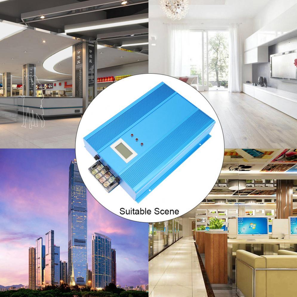Dispositif d'économie d'électricité industriel Intelligent avec tueur de facture d'électricité de indicateur LED jusqu'à 30% pour l'usine de Restaurant - 4