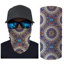 3D Outdoor Women Men Anti Dust Head Mask Scarf Neck Windproof Face Sun protection Headband Washable Reusable