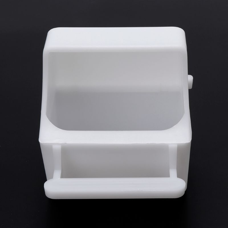 2021 New Bird Feeder Anti Splash Feeding Bowl Box Splash Proof Cage Parrot Pigeon Budgie Equipment Plastic Drink Water