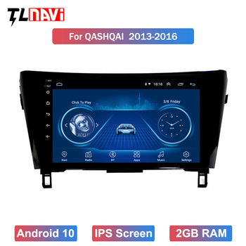 10.1 Android 10 Car GPS Radio for 1Nissan X-Trail Qashqai J10 J11 2014 2015 2016 2017 Stereo Multimedia Navigation image