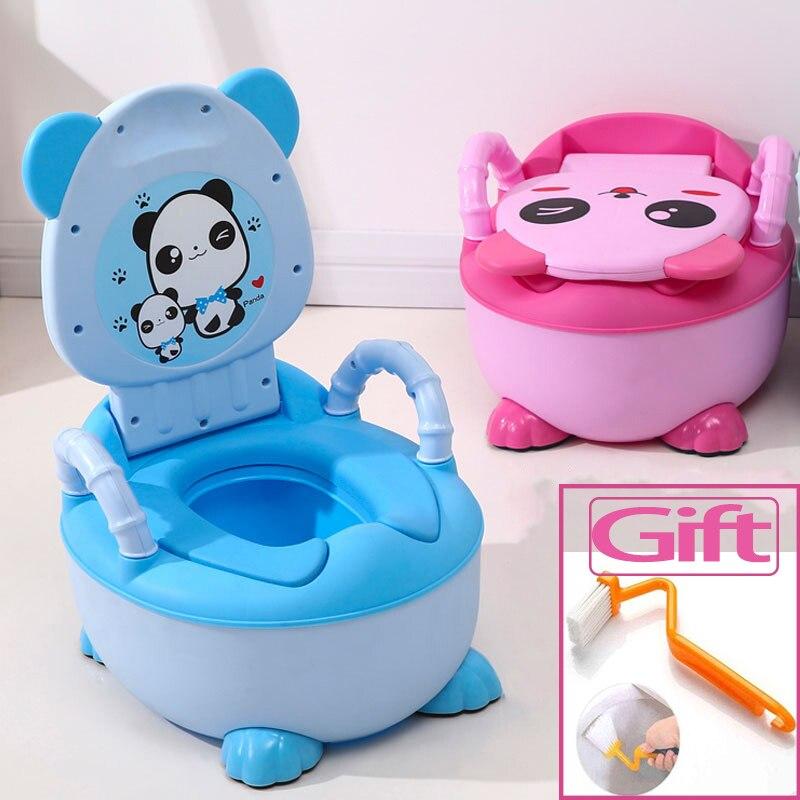 От 0 до 6 лет Детский горшок мягкий детский горшок пластиковый дорожный горшок младенческой милый ребенок сиденье для унитаза для мальчиков ...
