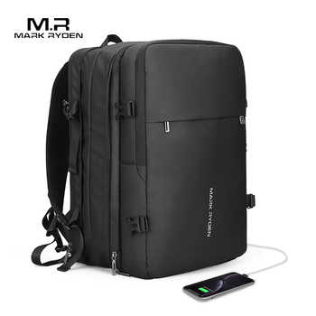 Mark Ryden Man Backpack Fit 17 inch Laptop USB Recharging Multi-layer Space Travel Male Bag Anti-thief Mochila - DISCOUNT ITEM  50% OFF All Category