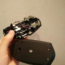 עכבר מעטפת עכבר מקרה עם לחצן לוח עבור Logitech משחקי עכבר G304 G305 חילוף חלקי אבזרים