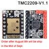 BIGTREETECH TMC2208 V3 0 TMC2209 UART TMC2130 SPI Stepper Motor Driver Stepstick Mute For SKR V1 3 Pro MKS 3D Motherboard review