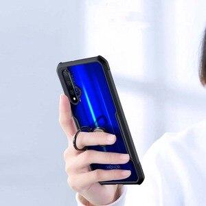 Image 4 - Funda de anillo Xundd para Huawei nova 5t, Airbags de lujo, a prueba de golpes, funda transparente para Honor 20 Pro