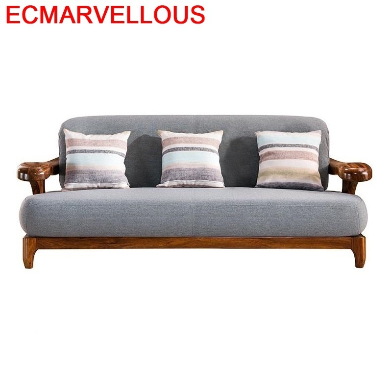 La Casa Oturma Grubu Asiento Meble Do Salonu Puff Futon Moderno Para Wood Mobilya Set Living Room Furniture Mueble De Sala Sofa
