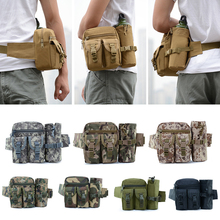 Tactical Military Men Hip Waist Belt Bag Small Pocket Running Pouch Outdoor Travel Camping Bags Phone Case Bags Water Bottle Bag men tactical molle pouch belt waist pack bag small pocket military waist pack phone pouches outdoor running travel camping bags