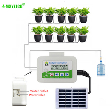 Irrigation-Nozzle Watering-Timer Intelligent-Controller Garden Automatic Solar-Charging-Device